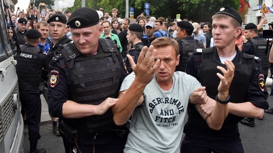 Russia opposition leader Alexei Navalny.(File photo)(AFP )