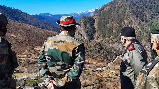 The Ministry of External Affairs had said that it has seen recent reports on China undertaking construction work along with the border areas with India.(PTI file photo)