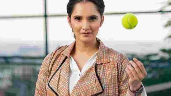File photo of Indian tennis star Sania Mirza(HT Sports)