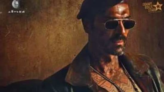 Arjun Rampal in his first look from Dhaakad.