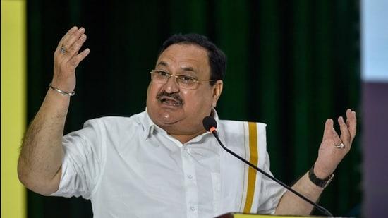 BJP national president JP Nadda. (PTI)