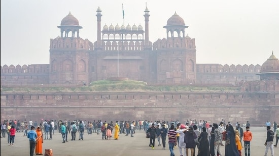 A view of Delhi's Red Fort. (PTI)