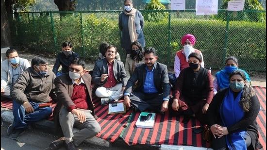 Panjab University Teachers' Association calls off protest over promotions after 61 days