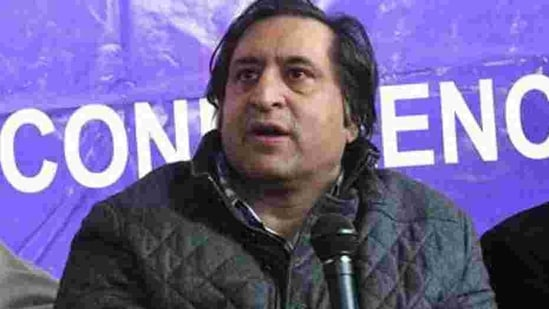 People's Conference President Sajad Lone(ANI file photo)