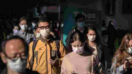 The city reported 56 new infections on Tuesday, of which 55 are local cases and 23 are untraceable, government officials said at a health department briefing Tuesday afternoon.(Bloomberg Photo)