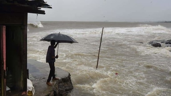 """The scientists, including those from the University of California (UC) Irvine in the US, said this """"sweeping shift"""" of the rain belt was disguised in previous studies that provided a global average of the influence of climate change.(PTI File Photo)"""