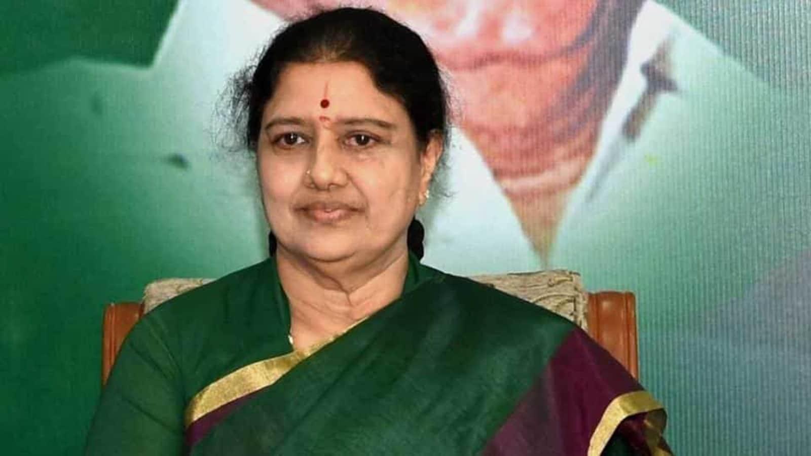 Sasikala hospitalised in Bengaluru week before her release from prison |  Latest News India - Hindustan Times