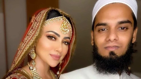 Sana Khan married Anas Saiyad in a private ceremony on November 20 last year.