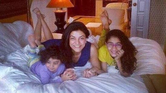 Sushmita Sen has two adopted daughters - Renee and Alisah.