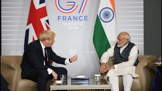 A new report by Chatham House describes India as UK's 'rival' or 'at best, an awkward counterpart' on par with Russia, Turkey and Saudi Arabia. It also weighs in against the idea of expanding G7 to include India (Getty Images)