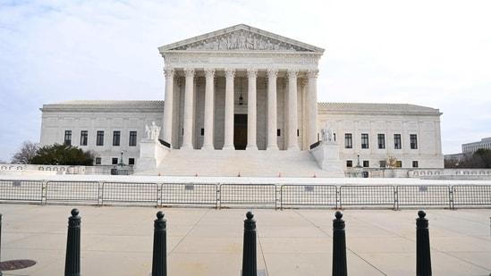 File photo of the US Supreme Court (AFP)