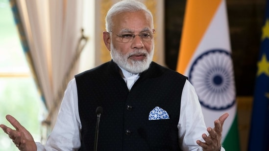 Prime Minister Narendra Modi is likely to consider the request from Dominica for Covid vaccine(AP)