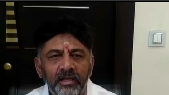 DK Shivakumar (ANI)