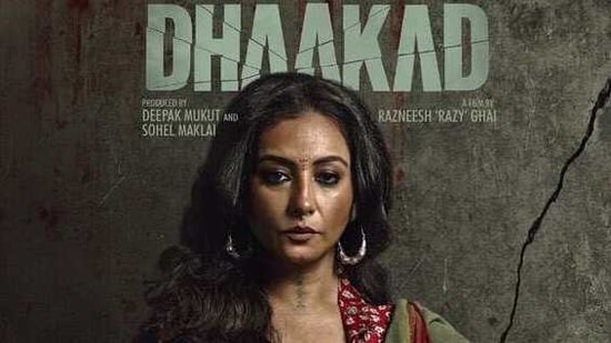 Divya Dutta stars as Rohini in Dhaakad.