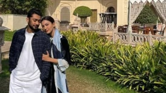 Gauahar Khan shared pictures from her Udaipur trip.