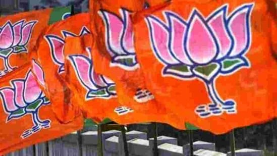 BJP's strength in the UP legislative council is bound to increase after the polls.(HT FILE)