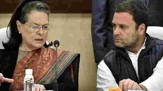 Former Congress president Rahul Gandhi is widely preferred within the party to replace Sonia Gandhi as efforts to pick a non-Gandhi party president have not succeeded in the past two years ago.(Sonu Mehta/HT PHOTO)