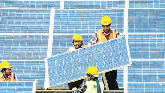According to government estimates, a full six acres will be needed for setting a 1 MW [or, 1000 kW] solar plant, which would be capable of generating over 1.2 million units of electricity annually, under the scheme.(Representative image)
