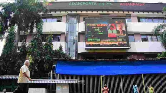 After opening on a negative note, the 30-share BSE Sensex was up by 17.84 points or 0.04 per cent at 47,764.06 in morning session.(PTI)