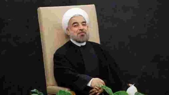 Iran's President Hassan Rouhani.(Reuters)