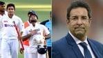 Wasim Akram congratulates India on Test series win Down Under(HT Collage)