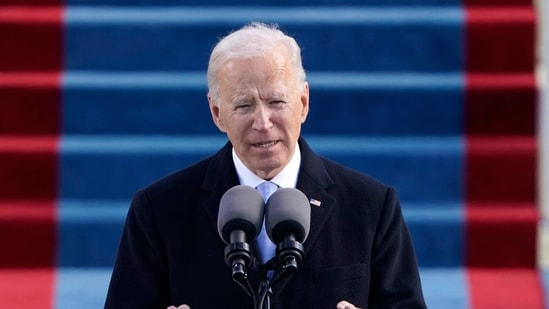 The poll for the Friedrich-Ebert-Stiftung was carried out online in December, after Biden's election victory had become clear, according to Ray. YouGov surveyed roughly 1,000 respondents from each of the 12 countries, with results weighted for variables such as respondents' ages, gender, education and religion.(AP)