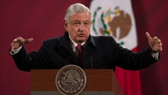 "Mexican President Andres Manuel Lopez Obrador described Biden's bill that could open a path to citizenship for immigrants in the US as ""very good"".(AP)"