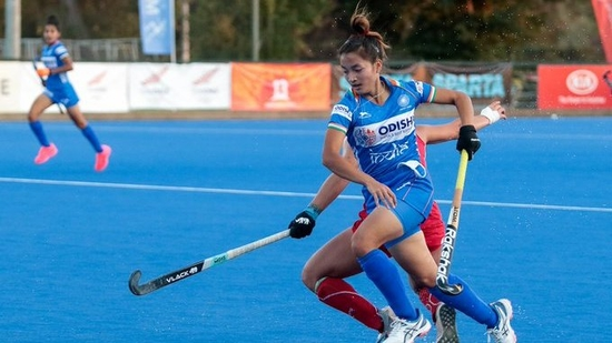 Indian women's junior hockey team beat Chile 3-2(Hockey India/Twitter)