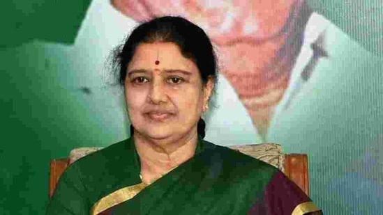 Sasikala is serving a four-year jail term in the disproportionate assets case.(PTI File Photo)