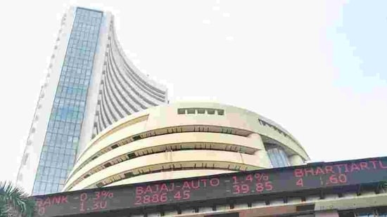 Titan was the top loser in the Sensex pack, shedding around 2 per cent, followed by Nestle India, HUL, HCL Tech, Infosys, ITC and Kotak Bank.(PTI)