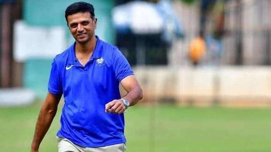 Former India captain Rahul Dravid(Twitter)