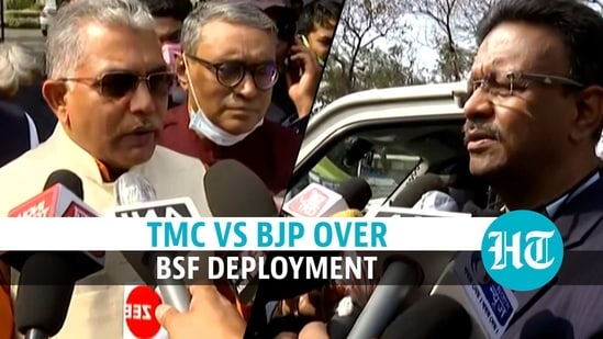 BSF intimidating voters at BJP's behest, says TMC; saffron party hits back