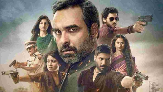The web series Mirzapur was launched in 2018 by Excel Entertainment and due to its successful run, the second edition of the web series was launched in October 2020. (HT FILE PHOTO).