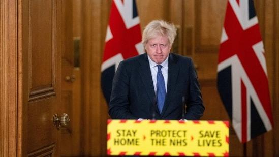 Boris Johnson also signalled the lockdown could last until summer.(AP)