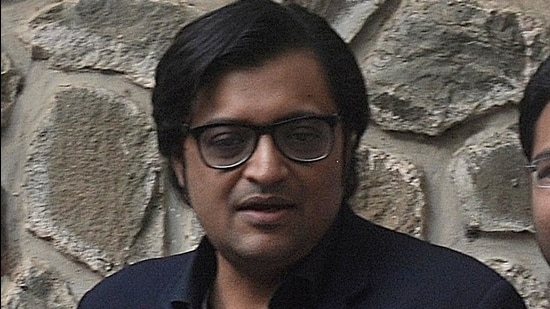 Arnab Goswami. (HT Photo)