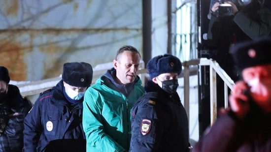 Russia has rejected calls from the US and European governments to release Navalny.(via REUTERS)