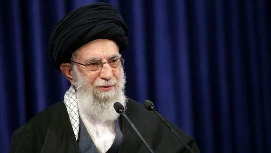 Iran's Supreme Leader Ayatollah Ali Khamenei delivers a televised speech, in Tehran, Iran. (Reuters)