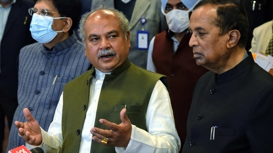 Union Agriculture Minister Narendra Singh Tomar on Friday said the protest has lost its sanctity.
