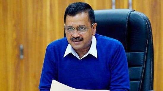 On Friday, Kejriwal chaired a review meeting on the project in which he directed officials of the DSIIDC – a government company with the expertise of infrastructure development in industrial areas – to strictly stick to deadlines.(ANI Photo)