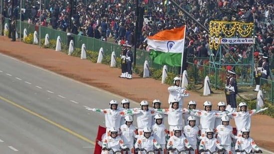 A glimpse of the Republic Day parade 2020 (PTI)