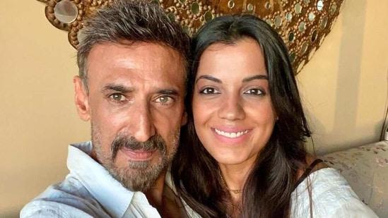 Mugdha Godse with boyfriend Rahul Dev