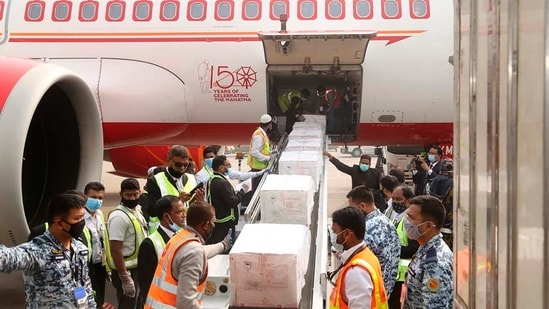 India on Thursday sent 2 million doses of a coronavirus to Bangladesh, a gift that is likely to foster bilateral relations further between the two South Asian neighbors.(AP/PTI)