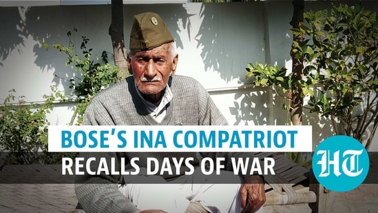 Bose's INA compatriot recalls days of war