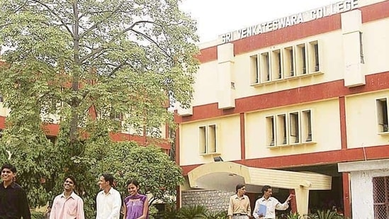 The 156-year-old Patna College has volunteered for the first time for NAAC assessment. (Representational image)(HT file)