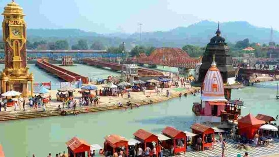 The sand art festival to be organised in Haridwar will be the first for Uttarakhand.(HT Photo)
