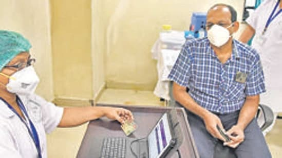 At present, the Centre is vaccinating healthcare workers across the country.(HT_PRINT)