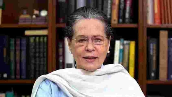 Party president Sonia Gandhi delivered opening remarks at the CWC meet. (ANI File Photo)