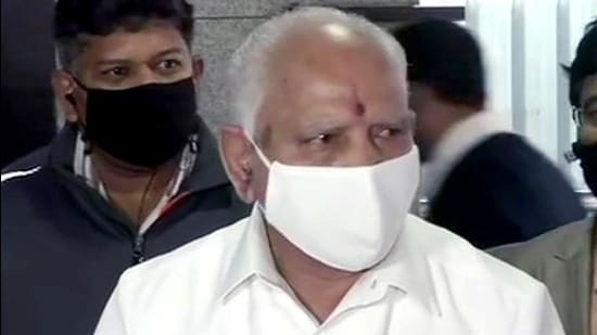 Karnataka chief minister BS Yediyurappa. (ANI)
