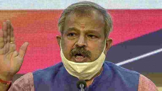 """Addressing a press conference on Thursday, Gupta said, """" <span class='webrupee'>₹</span>26,000 crore was transferred from Delhi government's account to DJB's accounts in the last five years, but the government is not ready to give any account for this amount.""""(PTI)"""