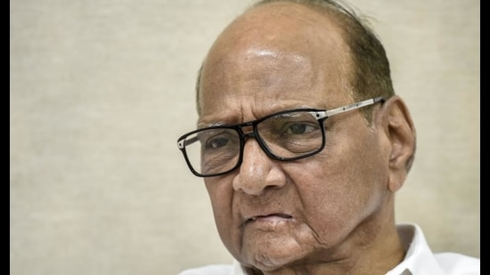 The veteran leader also reiterated that the Maharashtra Vikas Aghadi (MVA) government – comprising Shiv Sena, NCP and Congress – would complete its five-year term and attempts to dislodge it won't succeed. (HT FILE)